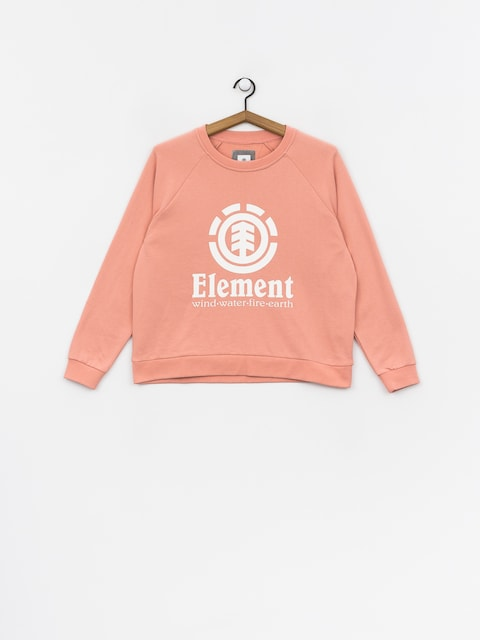 Mikina Element Verticalli Crew Wmn (peach)