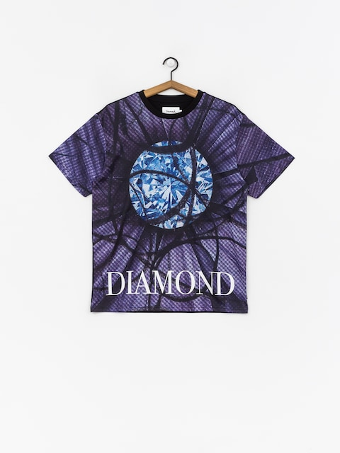 Tričko Diamond Supply Co. Distorted Flower (black)