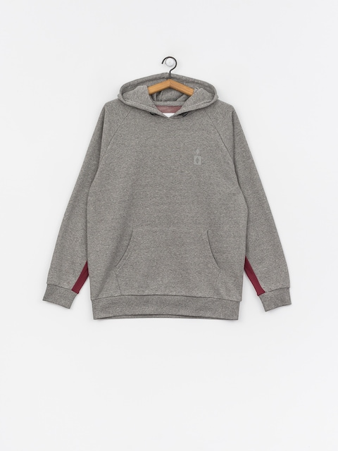 Mikina s kapucí Diamond Supply Co. Fordham HD (heather grey)