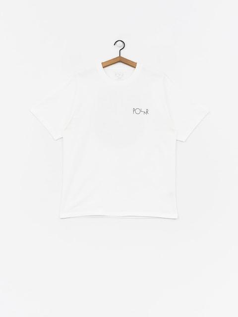 Tričko Polar Skate Fill Logohirt (white/black)