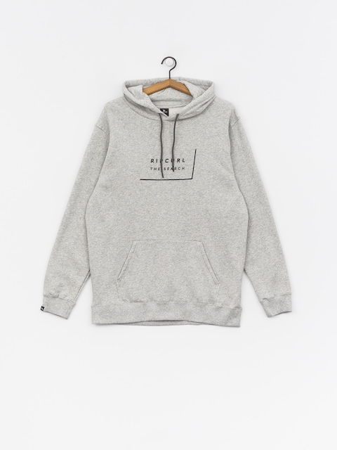 Mikina s kapucí Rip Curl Daily Fleece HD (cement marle)