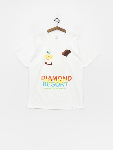 Tričko Diamond Supply Co. Diamond Resort (white)