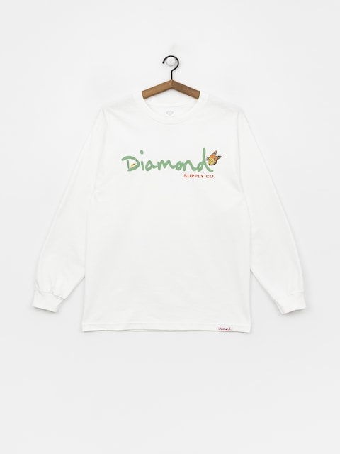 Triko Diamond Supply Co. Paradise Og Script (white)