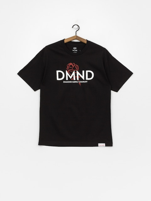 Tričko Diamond Supply Co. Dmnd Amour (black)