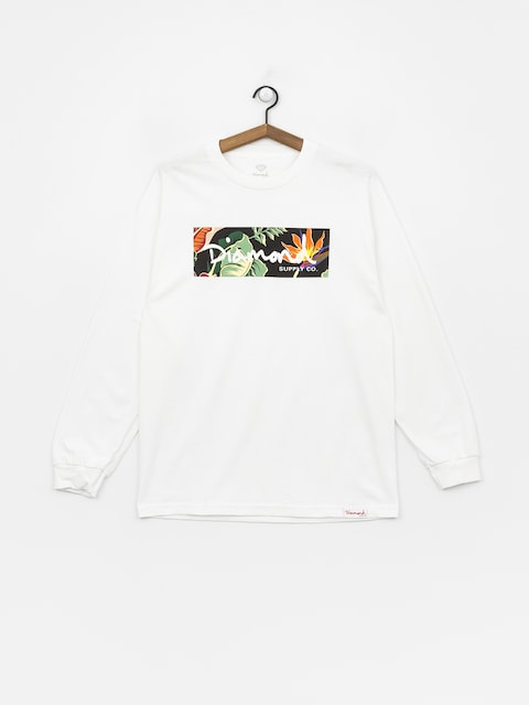 Triko Diamond Supply Co. Paradise Box Logo (white)