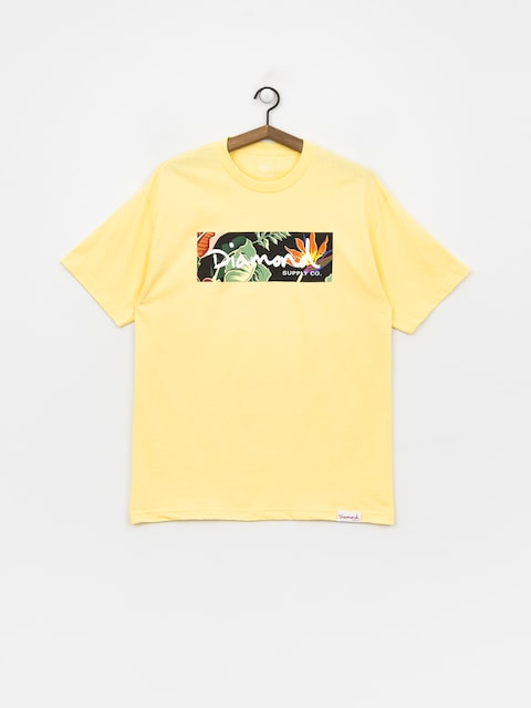 Tričko Diamond Supply Co. Paradise Box Logo (banana)