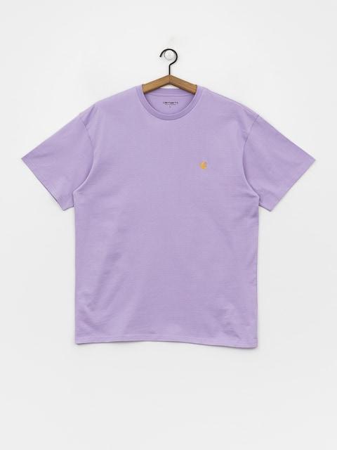 Tričko Carhartt WIP Chase (soft lavender/gold)
