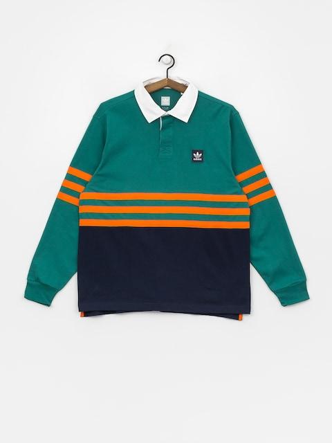 Polo tričko adidas Winchellpolo (actgrn/conavy/orange)
