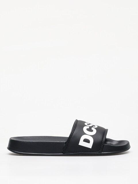 Plážovky DC Slide Wmn (black/white)