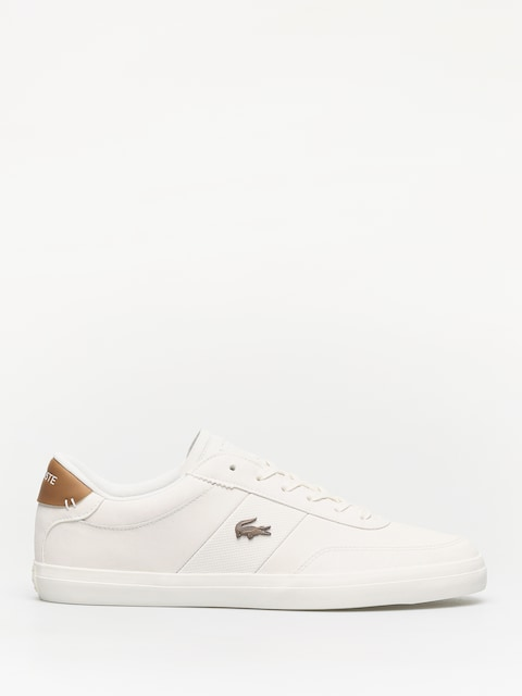 Boty Lacoste Court Master 119 3 (off white/light tan)