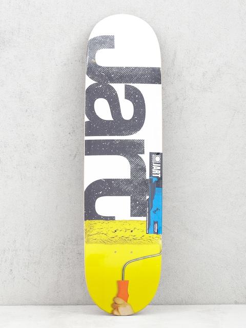 Deska Jart Rolling (white/yellow)
