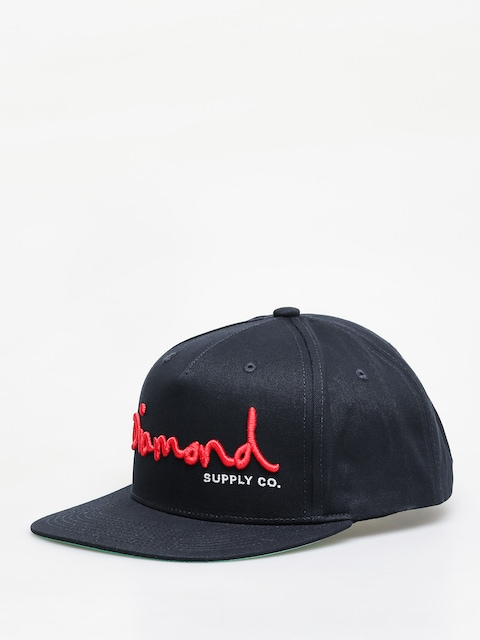 Kšiltovka  Diamond Supply Co. Og Script Snapback ZD (navy)
