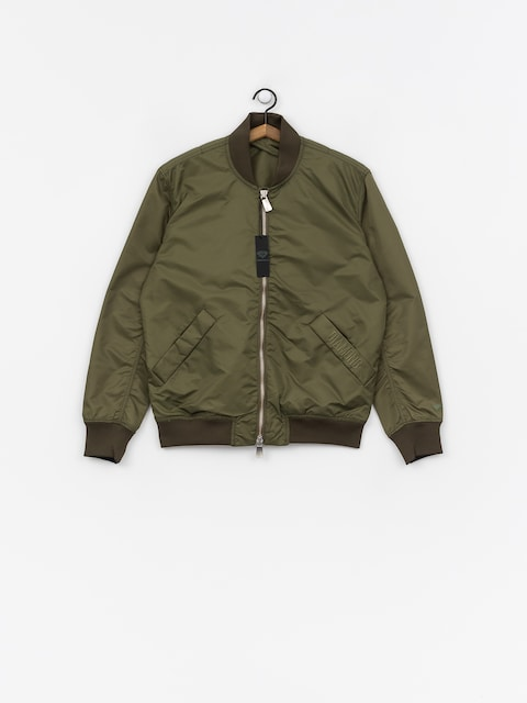 Bunda Diamond Supply Co. Panelled Bomber (olive)