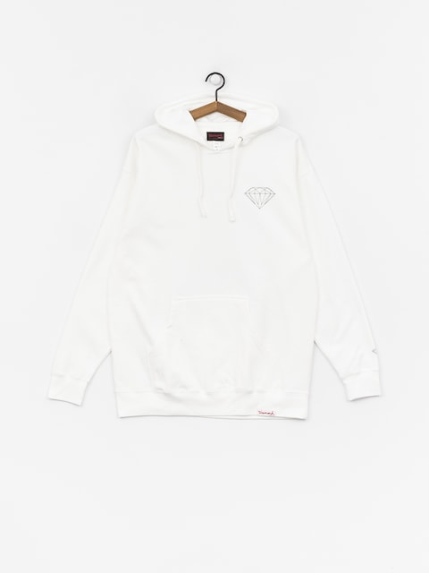 Mikina Diamond Supply Co. Draft (white)