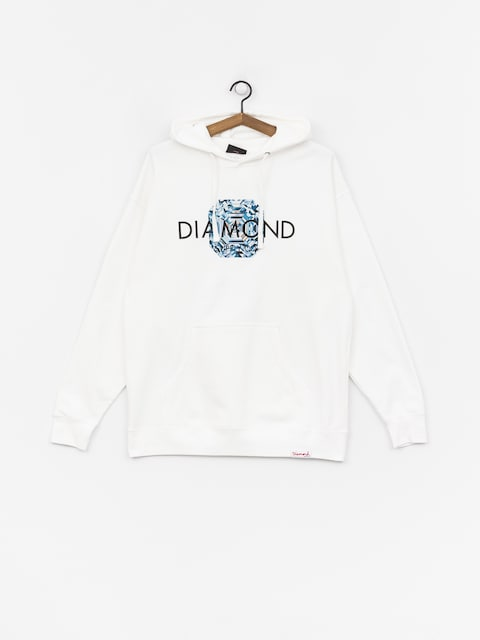 Mikina Diamond Supply Co. Asscher Cut (white)