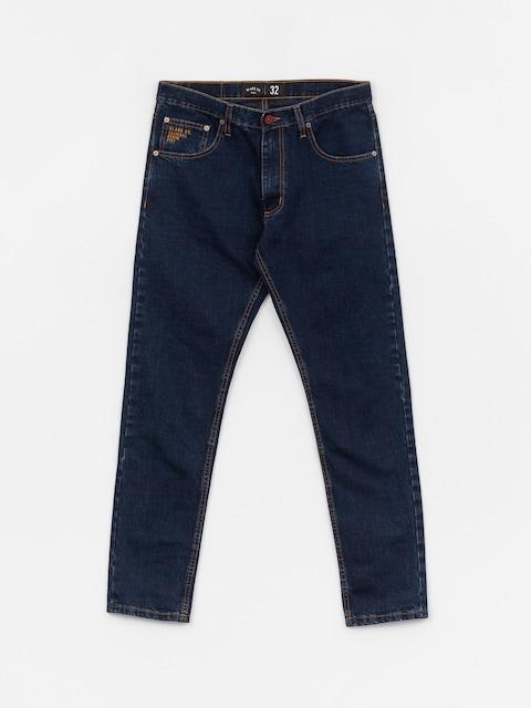 Kalhoty Elade Selvedge (blue denim)