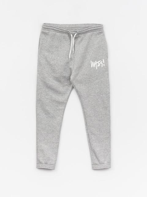 Kalhoty MassDnm Signature Trap Fit (light heather grey)