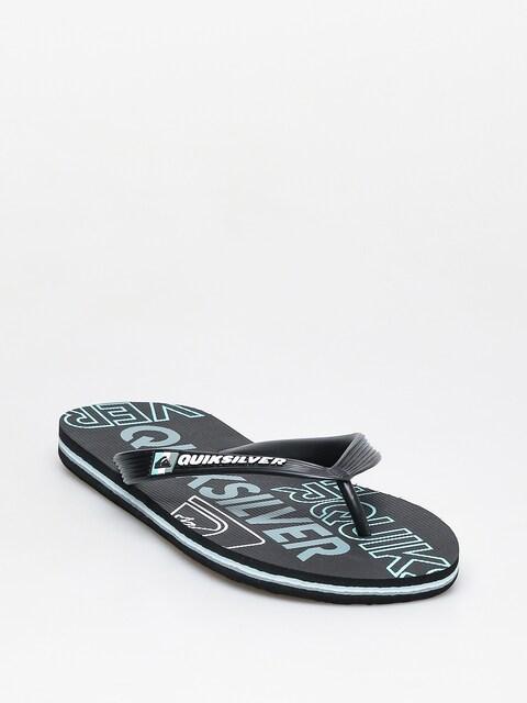 Plážovky Quiksilver Molokai Nitro (black/blue/black)