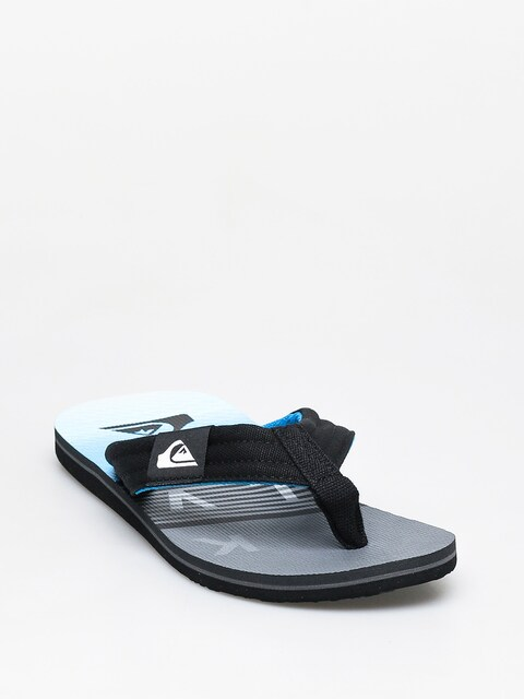 Plážovky Quiksilver Molokai Layback (black/grey/blue)