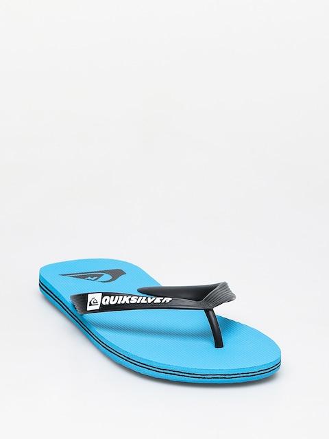 Plážovky Quiksilver Molokai (blue/black/blue)