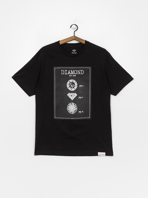 Tričko Diamond Supply Co. Draft (black)