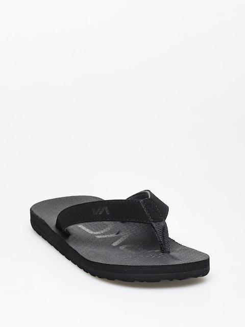 Plážovky RVCA Subtropic Sandal (black)