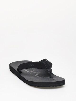 Plu00e1u017eovky RVCA Subtropic Sandal (black)