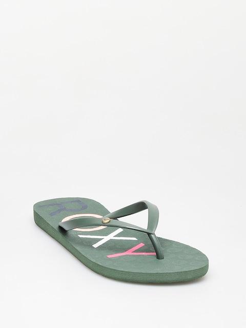 Plážovky Roxy Sandy II Wmn (green)