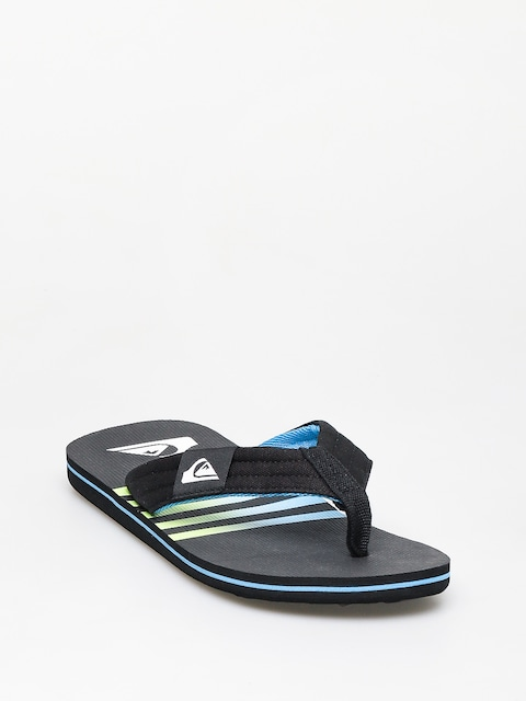 Plážovky Quiksilver Molokai Layback (black/black/blue)