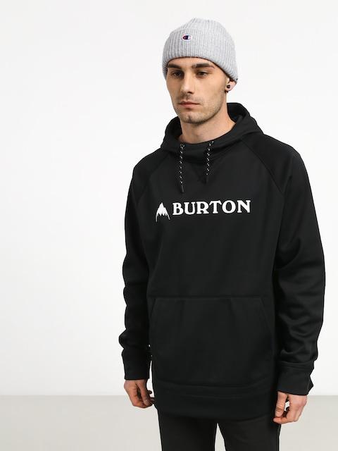 Mikina s kapucí Burton Crown Bndd HD (true black)
