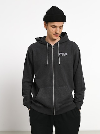 Mikina s kapucí Quiksilver X Comp Elite ZHD (dark grey heather)