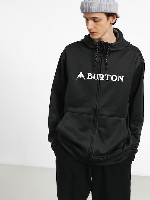 Mikina s kapucí Burton Oak ZHD (true black heather)