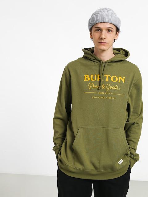 Mikina Burton Durable Goods (weeds)