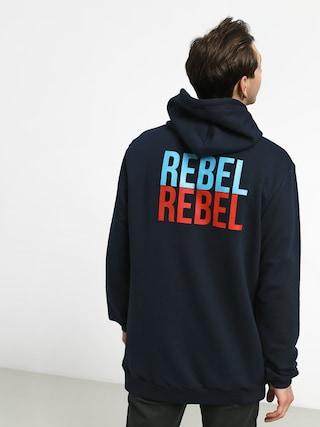 Mikina s kapucí Malita Rebel Db (navy)