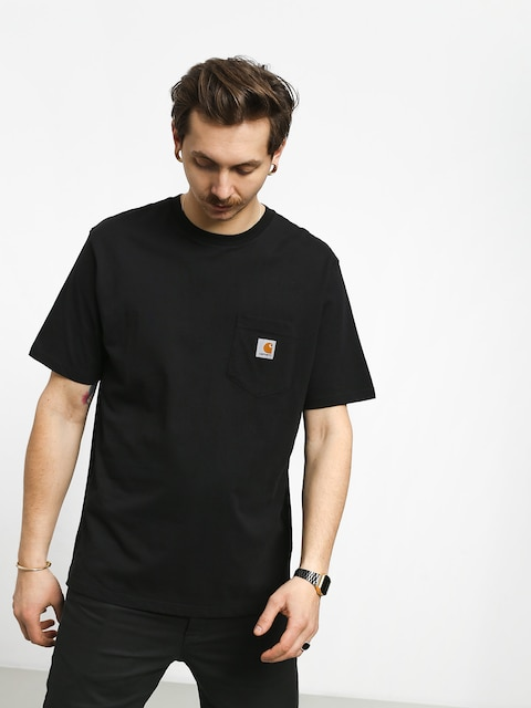 Tričko Carhartt Pocket (black)