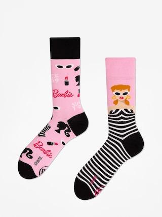 Ponožky Many Mornings Barbie (pink/black)