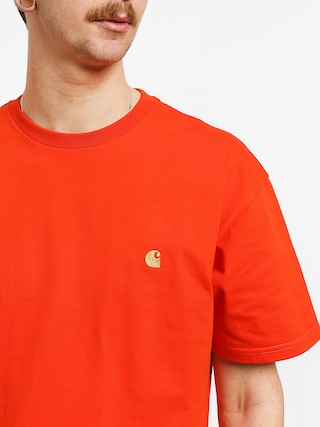 Tričko Carhartt WIP Chase (pepper/gold)