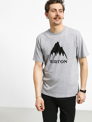 Tričko Burton Clmtnhgh (gray heather)