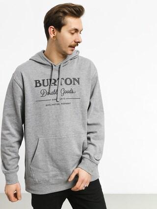 Mikina Burton Durable Goods (gray heather)