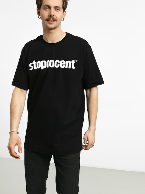 Tričko Stoprocent Simple 19 (black)