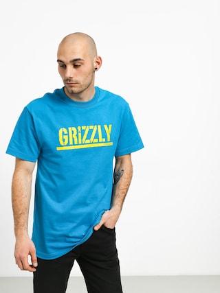 Tričko Grizzly Griptape Stamped (teal)