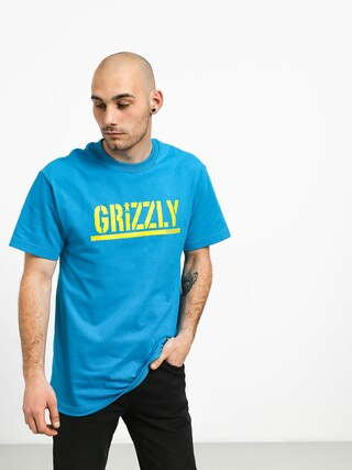Triu010dko Grizzly Griptape Stamped (teal)