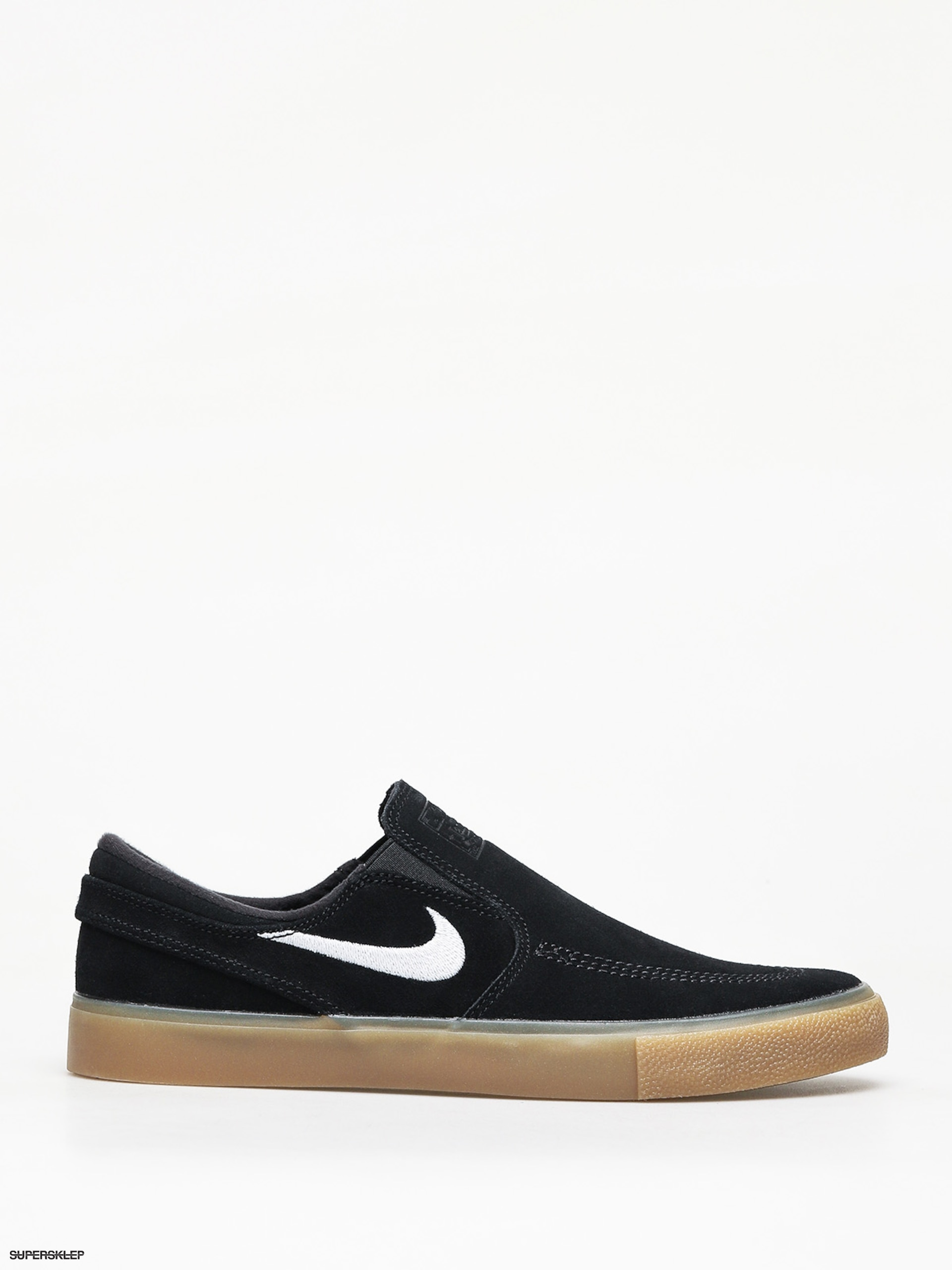 e89bb7a362 Boty Nike SB Sb Zoom Janoski Slip Rm (black white black gum light brown)