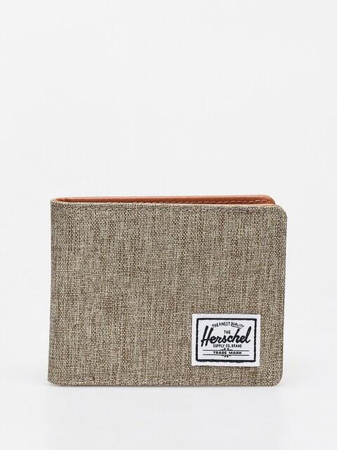 Peněženka Herschel Supply Co. Hank Rfid (kelp crosshatch/kelp)