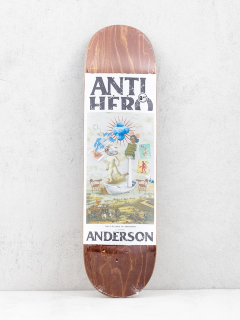 Deska Antihero Anderson Four Pillars (brown)