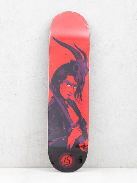 Deska Locals Skateboards Samurai Af (red)