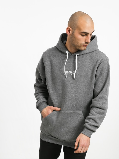 Mikina s kapucí El Polako Mini Logo HD (grey)