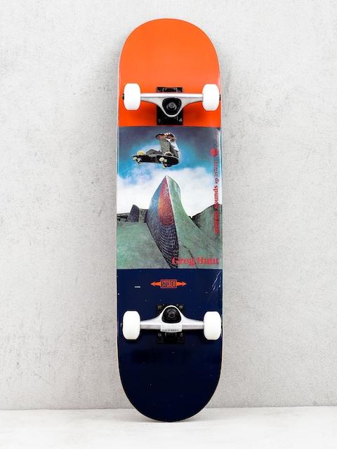 Skateboard Stereo Ckassic Ad Greg Hunt