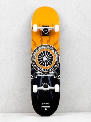 Skateboard Boulevard Gonzalez Brotherhood (orange/black)