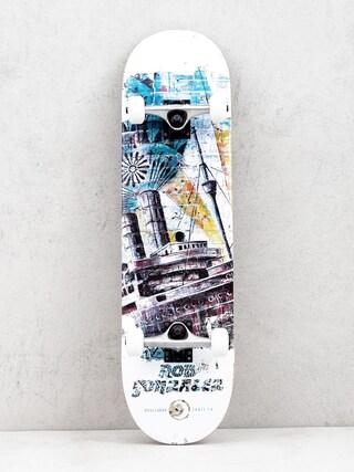 Skateboard Boulevard Gonzales Street Art (white/multi)